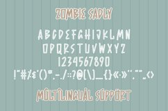 Zombie Sadly - Halloween Font Product Image 3