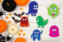 Googly Eyed Little Monsters Stickers Product Image 4
