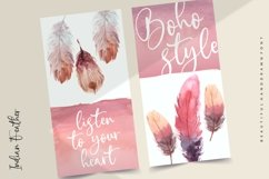 Indian Feather Beautiful Handdrawn Font Product Image 3