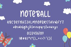 Noteball - Cute Font Product Image 3