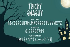 Tricky Swash - Halloween Font Product Image 3