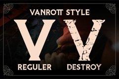 Vanrott - Old Style Font Product Image 3