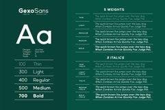 Gexo Sans - Elegant Sans Product Image 3