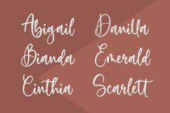 Sweetie Autumn Beautiful Calligraphy Font Product Image 3