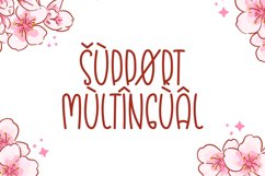 Blossom - Cute Display Font Product Image 2