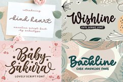 Cute and Friendly - Best seller Font Bundles Product Image 6