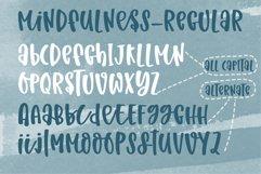 Mindfulness- A cute handritten font Product Image 3