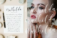 White Carley Modern Calligraphy Font Product Image 3