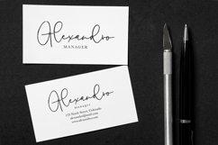 a Handwritten Font