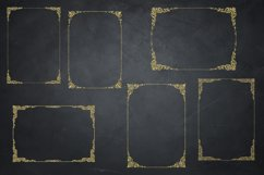 Gold Glitter Frames, Photo Effects Product Image 3