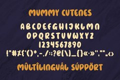 Mummy Cutenes - Halloween Font Product Image 3