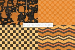 Happy Halloween Digital Papers and Patterns Product Image 2
