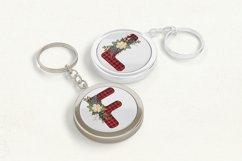 Christmas Sublimation Alphabet | Christmas letters bundle Product Image 2