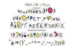 Minime color font Product Image 3