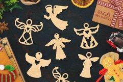 Christmas Ornaments Vol.2 - 120 Laser Cut Files Bundle Product Image 3