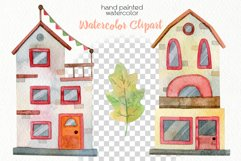 Watercolor Autumn Clipart - PNG Files Product Image 5