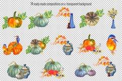 Fall Clip Art, Fall Graphics Set, Thanksgiving Clip Art Product Image 3