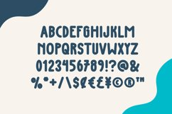 Blue Bird - Cute Display Font Product Image 2