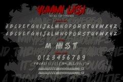 Yummi lassi - Playful Display Font Product Image 2