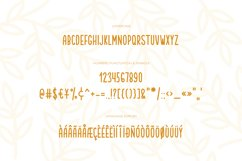 Garden friends   Font duo Product Image 3