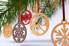 Christmas Ornaments Vol.1 - 120 Laser Cut Files Bundle Product Image 3