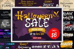 Halloween Sale Font Bundle Product Image 1
