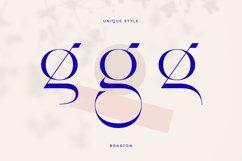 Braston - Elegant Serif Font Product Image 4