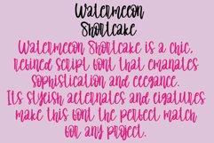 Watermelon Shortcake | handwritten font Product Image 2