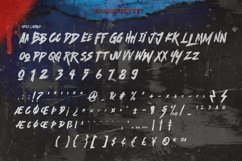 Scramble Storm - Bold handmade Rough Brush Font Product Image 3