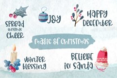 Christmas Memories - A quirky handwritten font Product Image 5