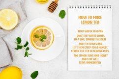 Lemon Tea Product Image 3