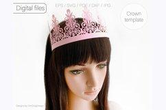 Birthday crown svg cricut Tiara svg Princess crown svg Product Image 4