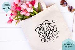 Inspirational SVG, Goal, Hustle svg, Dreamer Product Image 1