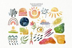 Watercolor Boho Clipart - PNG Files Product Image 4