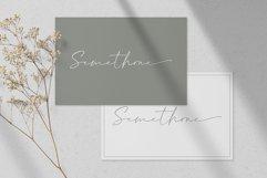 Semethone - Modern Calligraphy Font Product Image 3