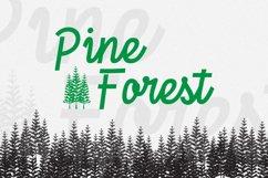 TreesDingbat Font Product Image 3