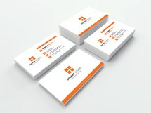 Minimal Business Card - Layered Photoshop PSD File Product Image 3