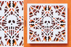 Halloween Mandala 3D Layered SVG Cut File Product Image 3