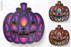Halloween Pumpkin 3D Layered SVG Cut File Product Image 3