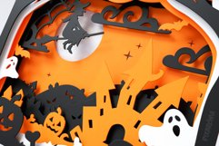 Halloween Shadowbox 3D Layered SVG Cut File Product Image 3