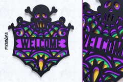 Halloween Signs 3D Layered SVG Cut Files Bundle Product Image 3