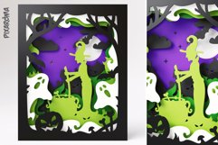 Halloween Wall Art 3D Layered SVG Cut File Shadowbox Product Image 3