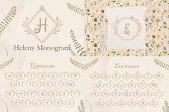 The Wedding Monogram Font Bundle Product Image 3