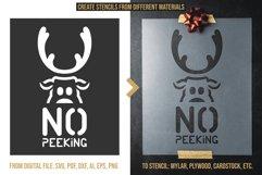 200 Christmas Stencils SVG Cut Files Bundle Product Image 3