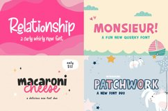 The Cute Craft Font Bundle Product Image 4