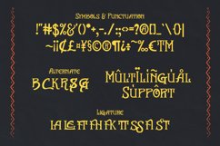 El Mayor - Display Decorative Font Product Image 4