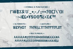 Cold Army - A Stencil Font Product Image 5