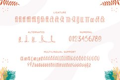 Sunkiss Bliss - Funny Tropical Font Product Image 3
