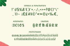 Harvest Day - Sprinkles Font Product Image 3