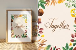 Charlebury Script Font Product Image 5